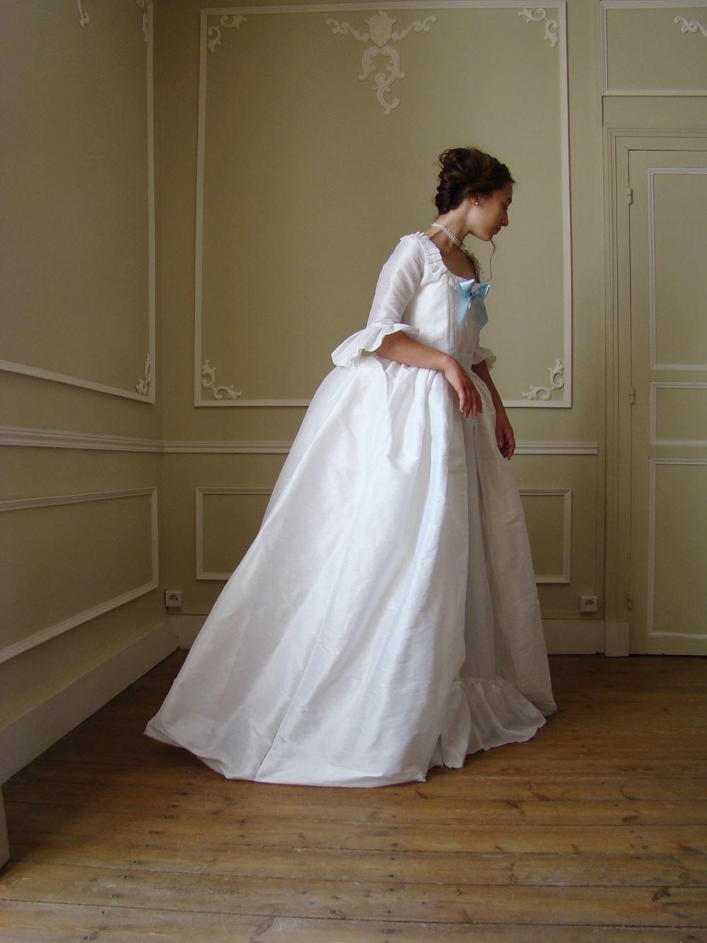 18ème Du Sauvage En Robe Marie Soie Antoinette Yy76vbfg